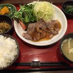 ローン - 日替りランチ(牛ステーキ)