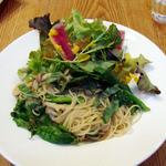 たまな食堂 - 本日のパスタ きのことバジルの塩麹パスタ ¥1,350