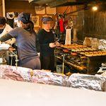 鯛焼本舗 遊示堂 - 店内の焼き場