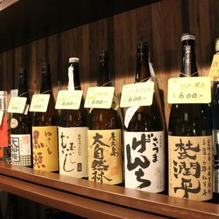 日本酒、焼酎も充実☆