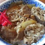 庄ヤ - ミニ牛丼
