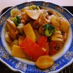 上海菜館 - Dランチ中の、Cランチ相当のお料理で選択した八宝菜