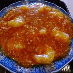上海菜館 - Dランチの海老のチリソース