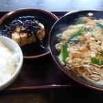 信濃庵  - 「そば定食」