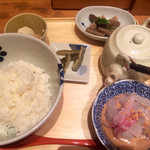 だし茶漬け えん - 宇和島産 鯛だし茶漬け 930円