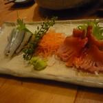 寿司勝 - 赤貝とさより