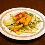 ハリマ・ケバブ・ビリヤニ - 2014.12 ランチセットのサラダ
