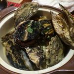 スパイラル - 牡蠣の白ワイン蒸し1200円