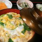 永福 - 料理写真:当店一押し奥久慈軍鶏丼