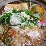 山香食堂 - 鍋焼きうどん 650円