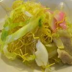 中華飯店 ながさこ - この極細麺が美味い~~