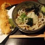 うどん居酒屋 澄 - 穴子天うどん(冷)980円