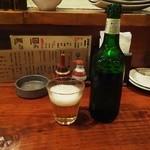 うどん居酒屋 澄 - ハートランド瓶650円