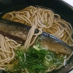 oshokujidokorosakura - にしん蕎麦(1004円)