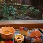 Gionramburu - ランチ其の三 2376円の前菜盛り合わせ