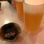 居酒屋花子 - ビールとお通し