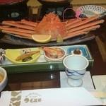 ホテル 金波楼 - 姿蟹と前菜
