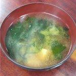 柳軒 - 味噌汁