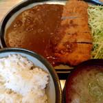 35331384 - カツカレー定食 ¥900