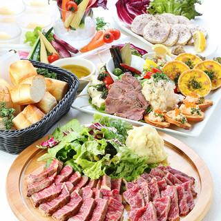 肉・魚・野菜の創作鉄焼きがイチオシ