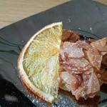 cafe de lacasa - ドリンクに付いてきたプチスイーツ