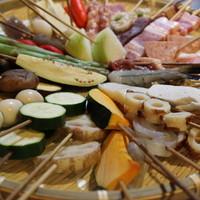 串カツ甲子園 - いろんな食材をご用意してます。