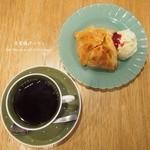 吾妻橋パーラー - アップルパイとコーヒー♡