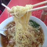 仲よし - 見事な細麺