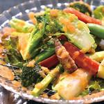 南あわじ美食農園オリザ - オリザ自慢の虹色サラダ