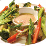 南あわじ美食農園オリザ - 春野菜のバーニャカウダ