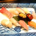 魚ごころ 季魚喜人 - にぎり寿司 なかじま