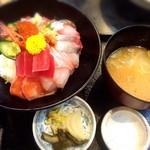 魚ごころ 季魚喜人 - 豪快漁師丼