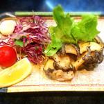 魚ごころ 季魚喜人 - あわびのバター焼き