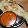 サイナ - 料理写真:バターチキンカレー&ナン