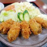 京味菜 わたつね - カキフライ定食A(980円)