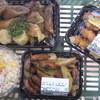 サミットストア - 料理写真:総菜コーナーでとり天、ウィンナーポテト、点心3点盛り、コールスローを購入