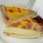 ティンカーベル - チーズベイク(1ピースカット) 324円