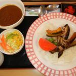 れすとらん甘羅 - 野菜カレー 980円