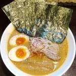 麺屋 あさ蔵 - 味玉味噌_850円、のり_50円