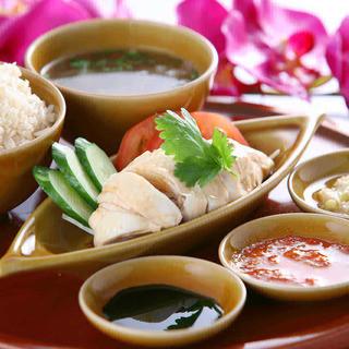 シンガポール代表料理【海南鶏飯】(海南チキンライス)