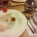 喫茶洋菓子 山葡萄 - ケーキセット