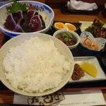 35347052 - たたき定食(塩)2500円+3%
