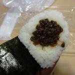 おむすび結庵 - 貝しぐれ:180円