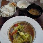 3535386 - 鶏肉とキャベツのオイスター煮定食  Photo By PEPOPA