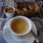 カフェレストラン タツミーヤ - ランチ付属のドリンクにホットコーヒー選択