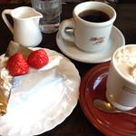 35350642 - 2015/2/11 MAXコーヒー ¥460、アメリカン ¥400、あまおうケーキ¥510