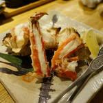 炙屋 - 焼き蟹
