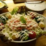 炙屋 - 蟹サラダ