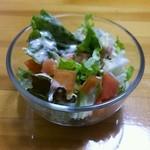 バッカナーレ - シカ肉のドリアのサラダ