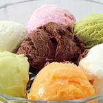 すすめ!ヴァイキング - 【アイスクリーム】を盛り付けてパフェも作れます。
